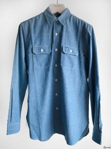 Image of Double RL - Selvadge Chambray Work Shirt