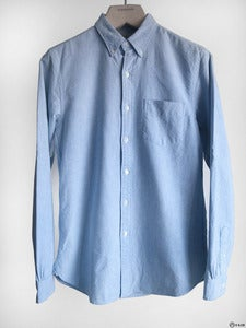 Image of Double RL - Selvadge Single Needle Oxford Shirt