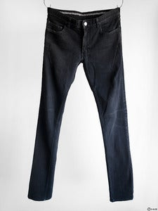 Image of Number (N)ine - Black Darted 5-Pocket Jeans