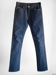 Image of A.P.C. - New Cure H Indigo Raw Denim Jeans