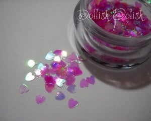 Image of Nail Art Micro Heart Sequins