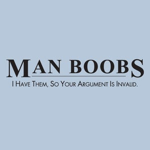 Image of I have man boobs meme mashup