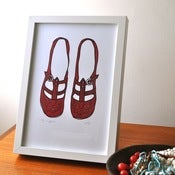 Image of Print • Ruby Slippers