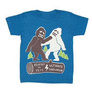 Image of Bigfoot vs Yeti | KIDS TEE