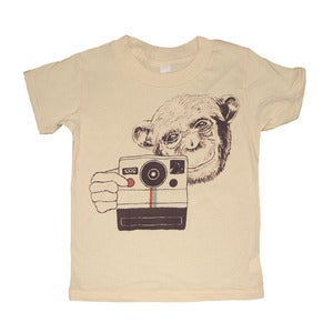 Image of Polaroid Chimp | KIDS TEE