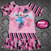 Image of **SOLD** Minnie Mouse Sweet as Can Be Dress - Size 2T/3T