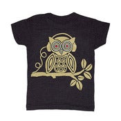 Image of Headphones Owl | KIDS TEE