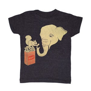 Image of Elephant &amp; Squirrel | KIDS TEE  