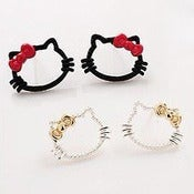 Image of Boucles d'oreilles Hello Kitty