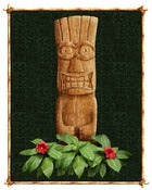 Image of Tiki Print
