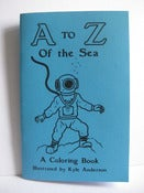 Image of &quot;A to Z of the Sea&quot; Coloring Book