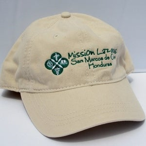 Image of Mission Lazarus &quot;San Marcos&quot; Honduras Logo Cap