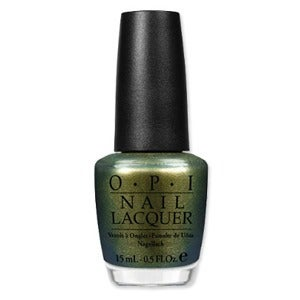 Image of OPI Nail Polish Spider-Man Collection 2012 M36 Just Spotted The Lizard