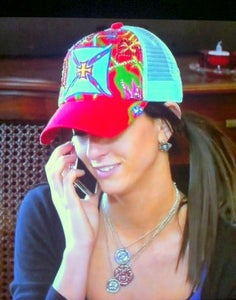 Image of Hannah - 3 Stacked monogram necklaces As seen on CMT's Texas Women
