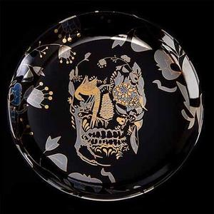 Image of DL & Co - Delft Skull Plate