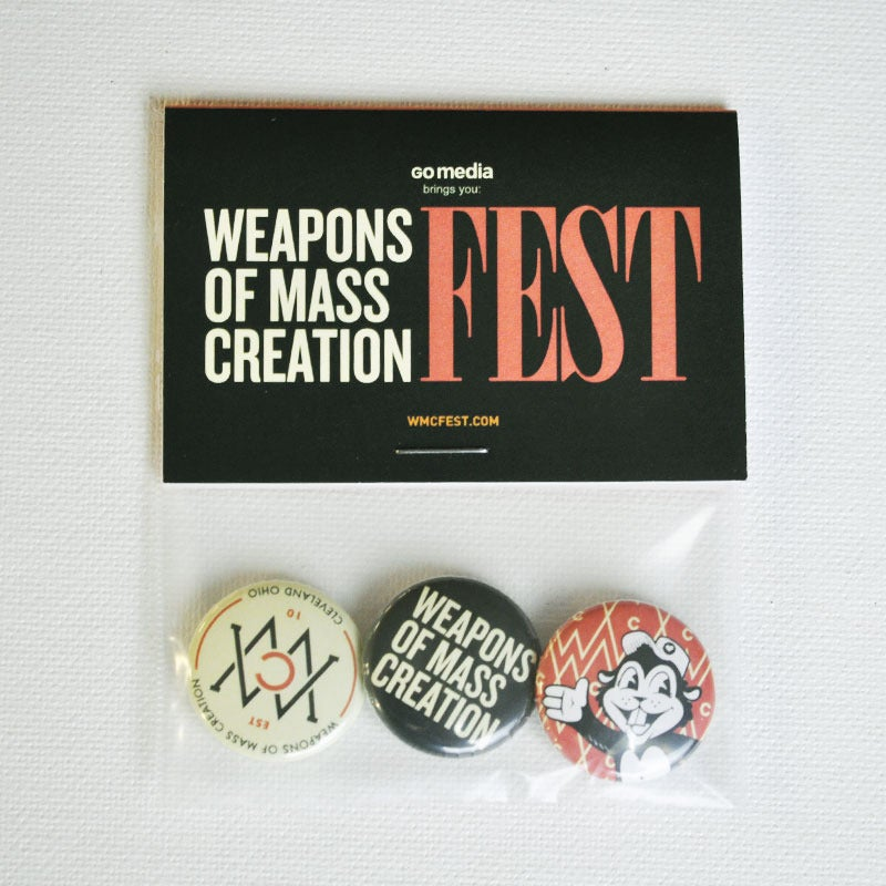 Image of WMC Fest 2012 Button Pack