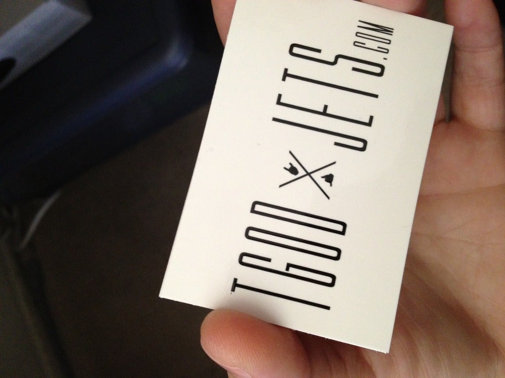 Image of TGODxJETS.com X Logo Sticker