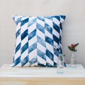 Image of Cushion Cover / Chevron