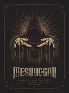 Image of Meshuggah - May 01 (brown)