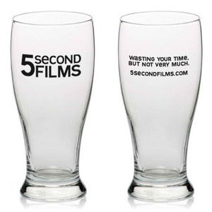 Image of 5SF beer glass