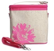 Image of So Young Mother Large Cooler Bag - Pink Daisy