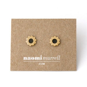 Image of Flower Studs | Golden