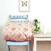Image of Vintage Eiderdown in Dusty Rose