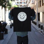 Image of FIXED SOLDIERS CLUB LOGO TEE - black