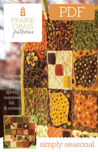 Image of Simply Seasonal: PDF Quilting Pattern #109
