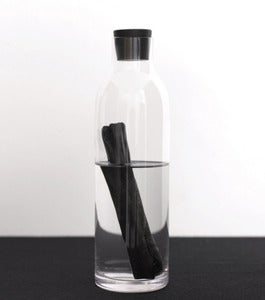 Image of Natural water filter (white coal) & bottle by Sort of Coal