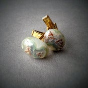 Image of Green Agate Cufflinks