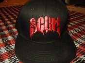 Image of SCUM RED FLATBILL HAT