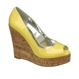 Image of Ravel Cork Wedges Orange Lemon
