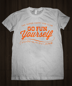Image of Go Fun Yourself Shirt - Heather Grey