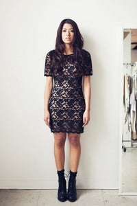 Image of Lace T Dress