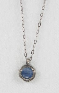 Image of Small Kyanite Nest necklace