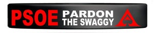 Image of PARDON THE SWAGGY (WRISTBANDS)