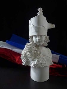 Image of Kathy Dalwood: Josephine Plaster Bust 