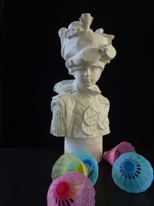 Image of Kathy Dalwood: Miss Get Set Go Plaster Bust