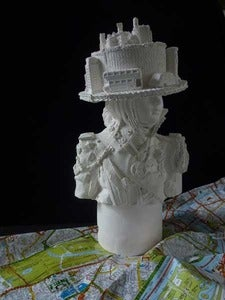 Image of Kathy Dalwood: Miss London Town Plaster Bust