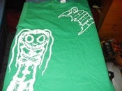Image of CRAZY SCUM DOLL SHIRT GREEN