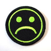Image of ☹ SAD PATCH GREEN ☹