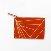 Image of DAZZLE PURSE orange