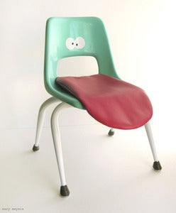 Image of Wary Meyers Tongue Chair