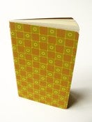 Image of Ruled Notebook with Wallpaper (Chequered)