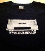 Image of Fargen Amps 100% cotton T shirt (black)