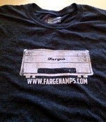 Image of Fargen Amps 100% cotton T shirt (grey)