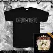 Image of Crowbar Sever The Wicked Hand Black Tee