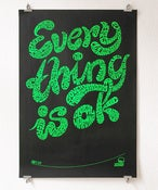 Image of Everything is ok - Poster rolled