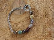 Image of Petrified Green Opal Bracelet
